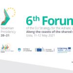 EUSAIR Newsletter Post-6th EUSAIR Forum edition 2021